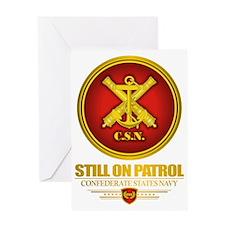 CSN -Still On Patrol (r) Greeting Card