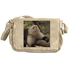 Capuchin Monkey Messenger Bag