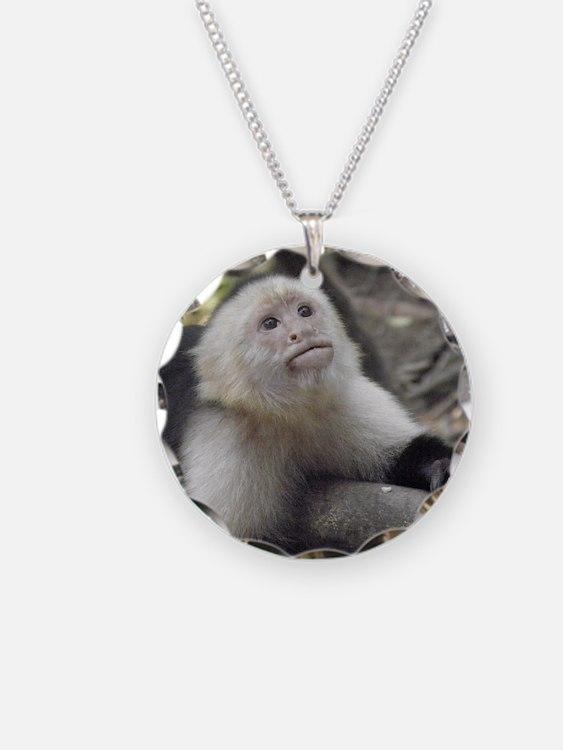 Capuchin Monkey Necklace