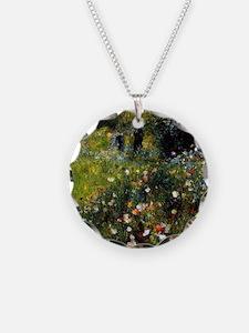 Renoir Summer Landscape Necklace