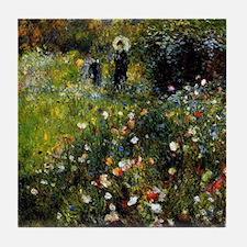 Renoir Summer Landscape Tile Coaster