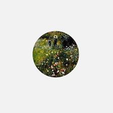 Renoir Summer Landscape Mini Button