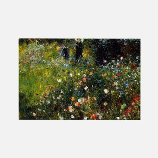 Renoir Summer Landscape Rectangle Magnet