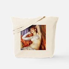 Sleeping Baigneuse Tote Bag