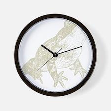 Vintage Frog Wall Clock