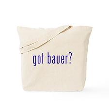 got bauer? Tote Bag