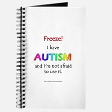 """Freeze!"" Autism Journal"