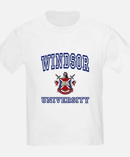 WINDSOR University Kids T-Shirt