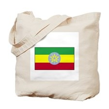 Ethiopia Flag Tote Bag