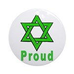 Proud Irish Jew Ornament (Round)