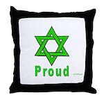 Proud Irish Jew Throw Pillow