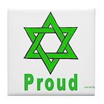 Proud Irish Jew Tile Coaster