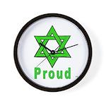 Proud Irish Jew Wall Clock
