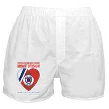USCG Moms Division Boxer Shorts