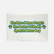 Like Water Dog Rectangle Magnet (10 pack)