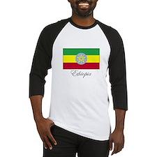 Ethiopia - Ethiopian Flag Baseball Jersey