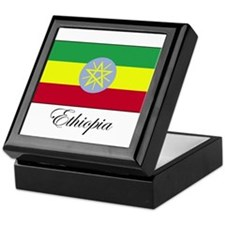 Ethiopia - Ethiopian Flag Keepsake Box
