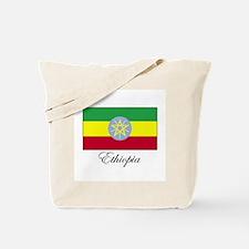 Ethiopia - Ethiopian Flag Tote Bag