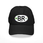Brazil Intl Oval Black Cap