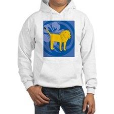 Lion Hexagon Ornament Hoodie
