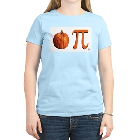 Pumpkin Pi Women's Light T-Shirt