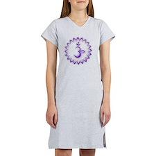 Crown Chakra Women's Nightshirt