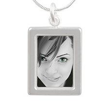 Samara Crichton Silver Portrait Necklace