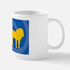 Lion 20x12 Wall Decal Mug