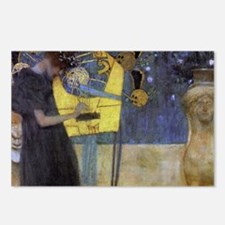 Gustav Klimt Music Postcards (Package of 8)
