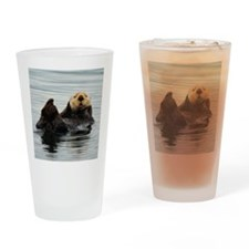 RCoaster_Otter_5 Drinking Glass