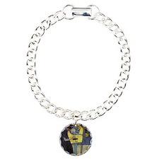 Gustav Klimt Music Charm Bracelet, One Charm