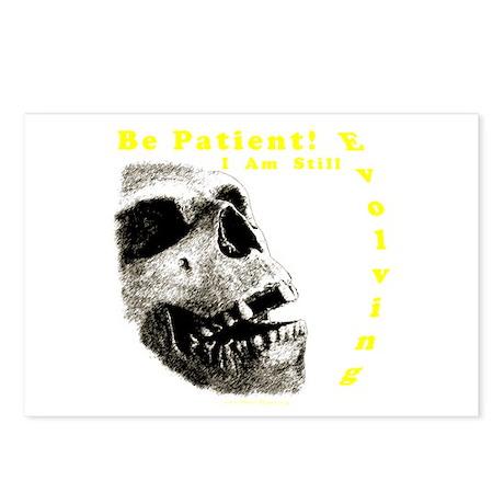 Be Patient, I am Still Evolving! Postcards (Packag