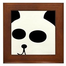 The Panda Framed Tile