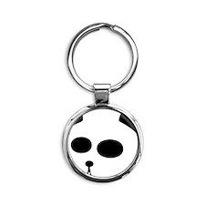 The Panda Round Keychain