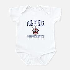 ULMER University Infant Bodysuit