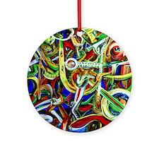 Afrobeat Round Ornament