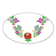 Hungarian folk motif Decal