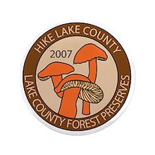 "Hike Lake County 2007 3.5"" Button"