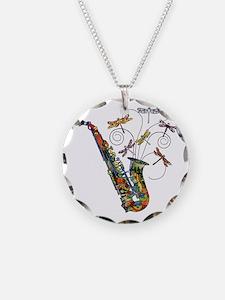 wild Saxophone Necklace