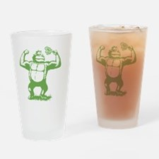 Official gorilla logo Drinking Glass