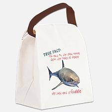 Shark Tears Canvas Lunch Bag