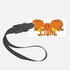 Halloween Pumpkin Liam Luggage Tag