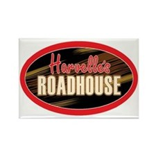 Harvelles Roadhouse Rectangle Magnet