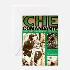 Comandante Che Greeting Card