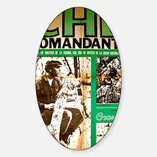Comandante Che Sticker (Oval)