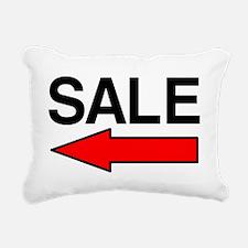 Sale Left Rectangular Canvas Pillow