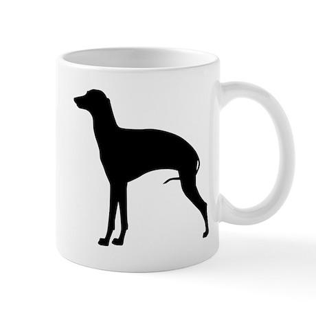 Black Italian Greyhound Mug