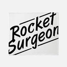 Rocket Surgeon Throw Blanket