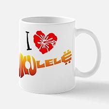 I Love Ukulele Mug