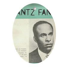 Frantz Fanon Oval Ornament